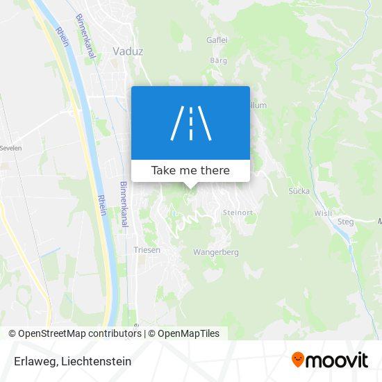 Erlaweg map