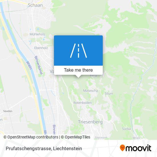 Prufatschengstrasse map