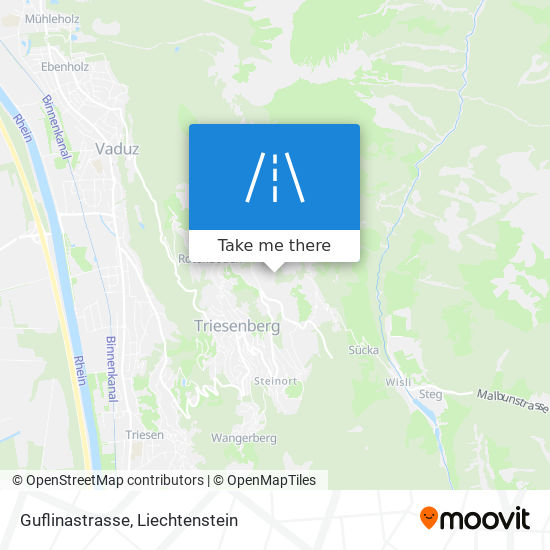 Guflinastrasse map