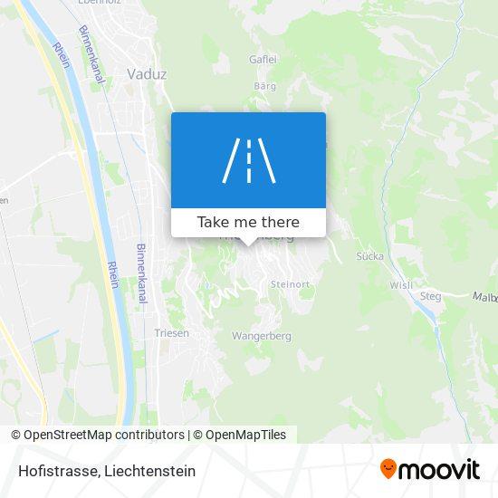Hofistrasse map