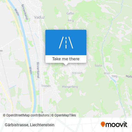 Gärbistrasse map