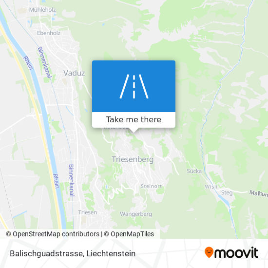 Balischguadstrasse map