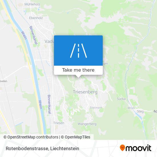 Rotenbodenstrasse map