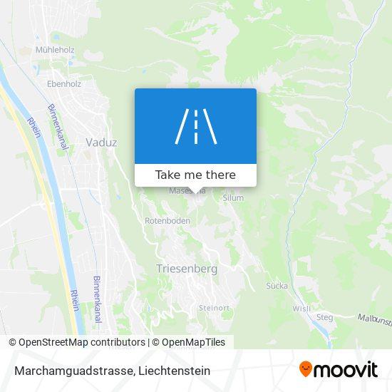 Marchamguadstrasse map