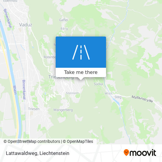 Lattawaldweg map