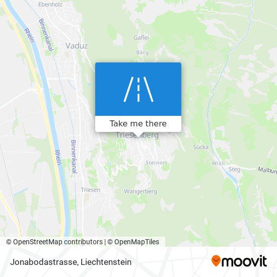 Jonabodastrasse map