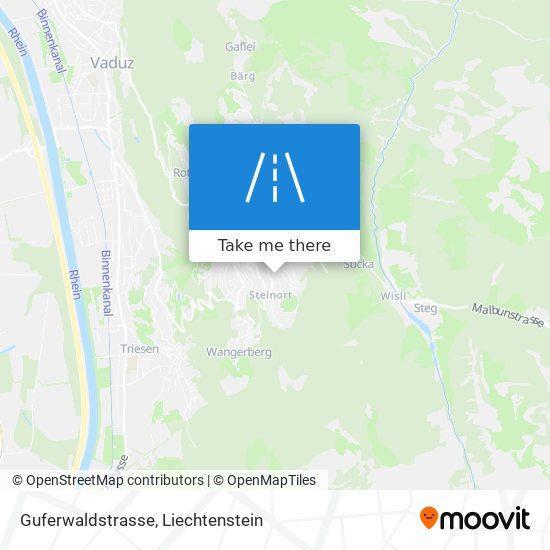 Guferwaldstrasse map