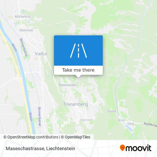 Maseschastrasse map