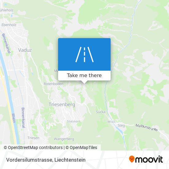 Vordersilumstrasse map