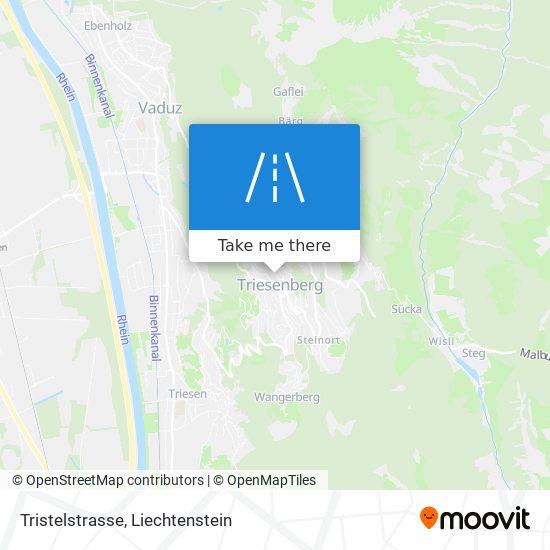 Tristelstrasse map
