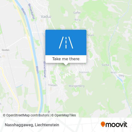 Nasshaggaweg map
