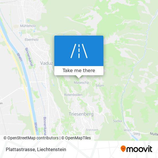 Plattastrasse map