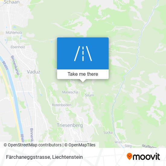 Färchaneggstrasse map