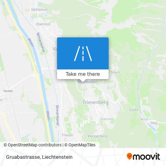 Gruabastrasse map