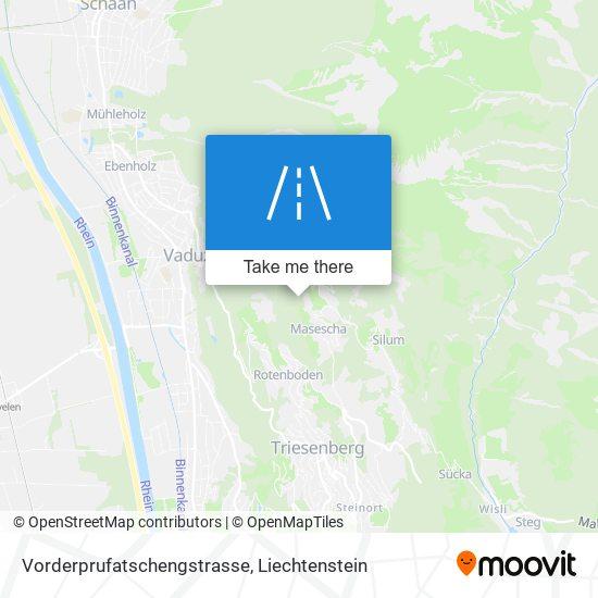 Vorderprufatschengstrasse map