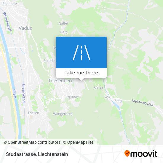Studastrasse map