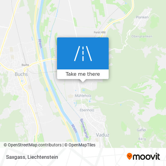Saxgass map