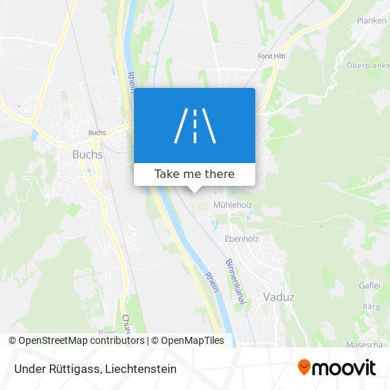 Under Rüttigass map