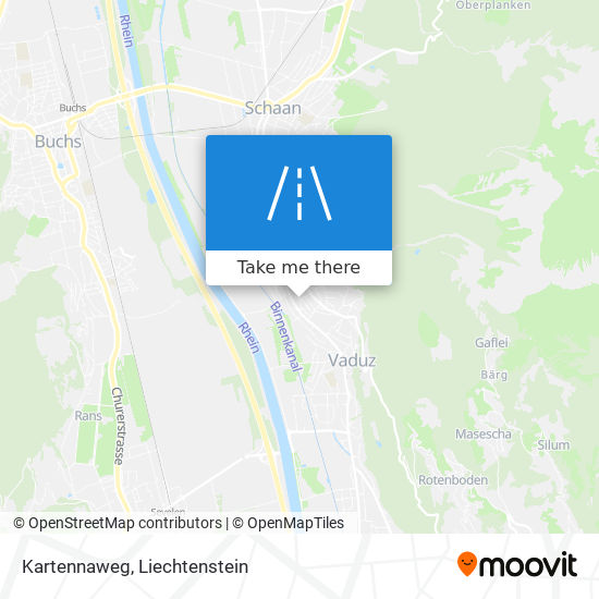 Kartennaweg map