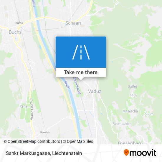 Sankt Markusgasse map
