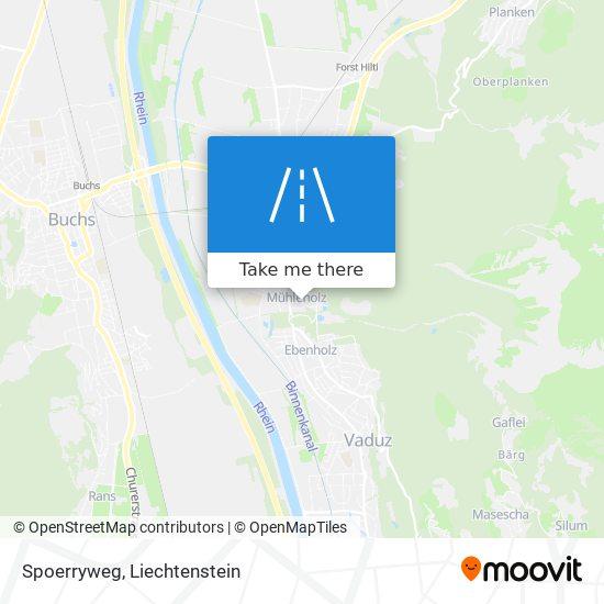 Spoerryweg map