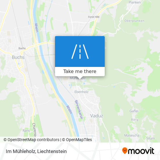 Im Mühleholz map