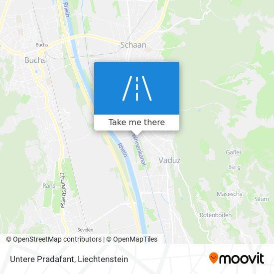 Untere Pradafant map