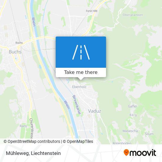 Mühleweg map