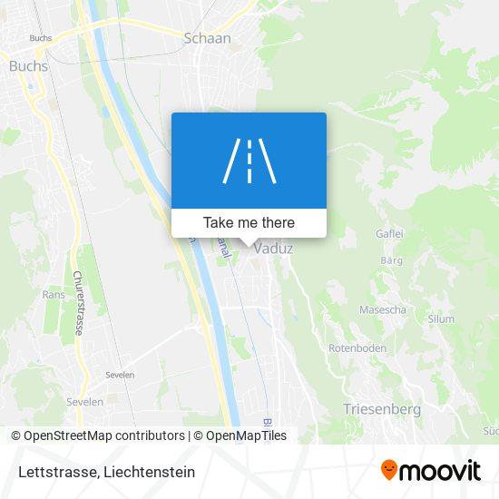 Lettstrasse map