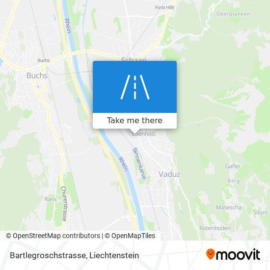 Bartlegroschstrasse map