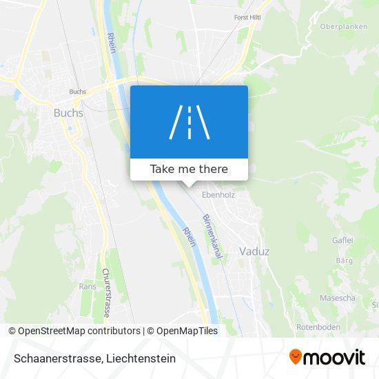 Schaanerstrasse map