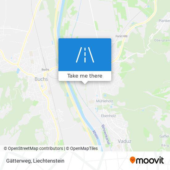 Gätterweg map