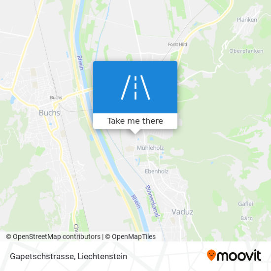 Gapetschstrasse map