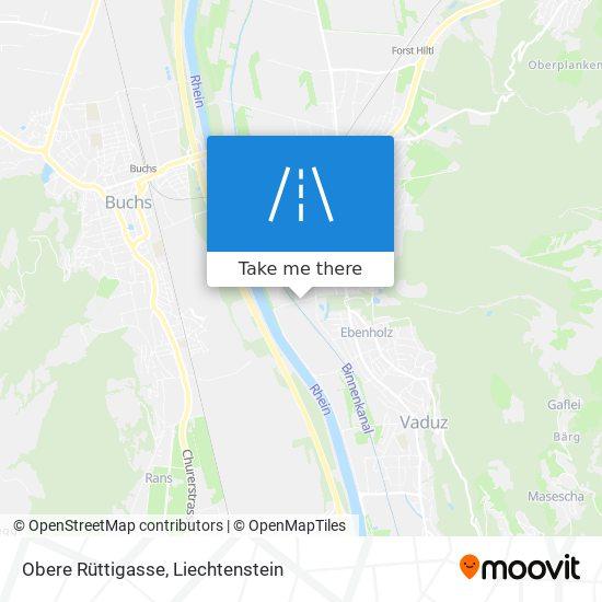 Obere Rüttigasse map