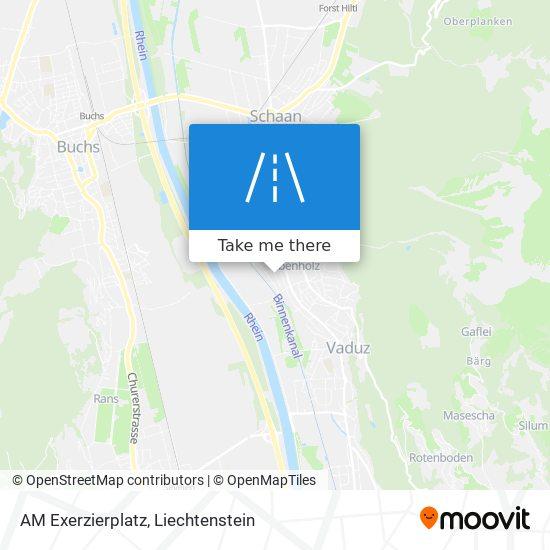 AM Exerzierplatz map