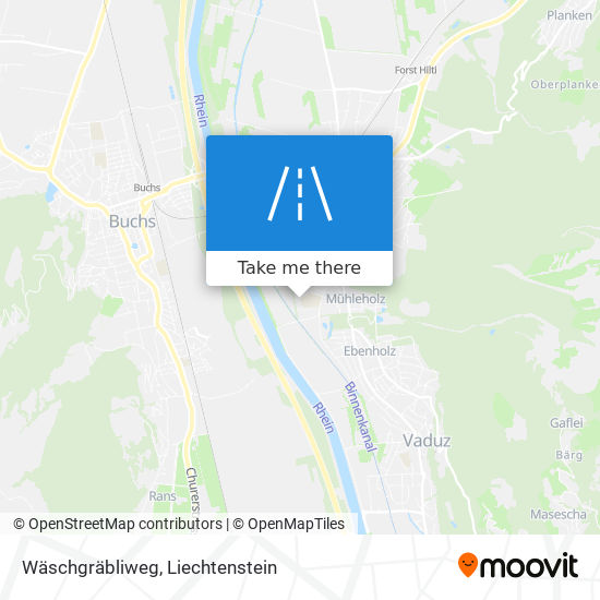 Wäschgräbliweg map