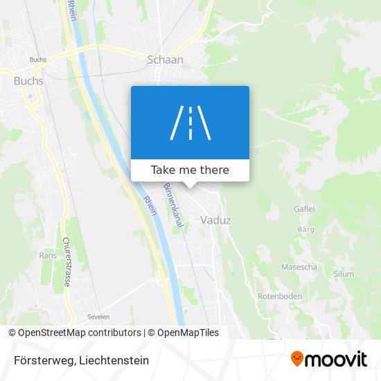 Försterweg map