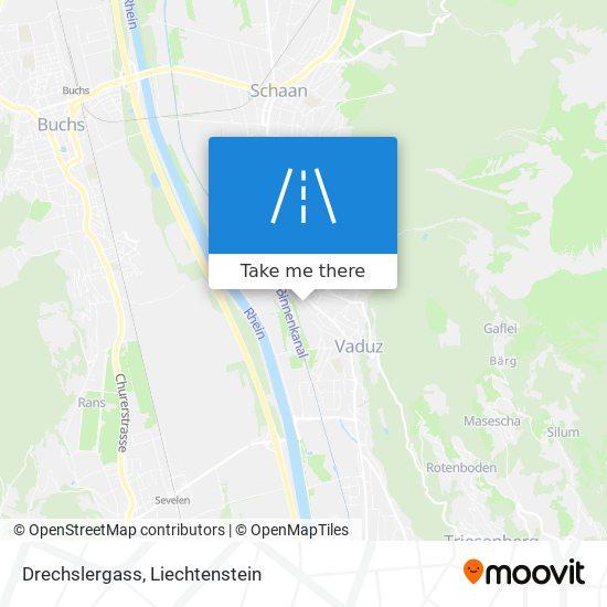 Drechslergass map