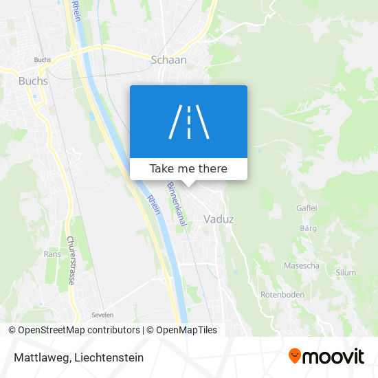 Mattlaweg map