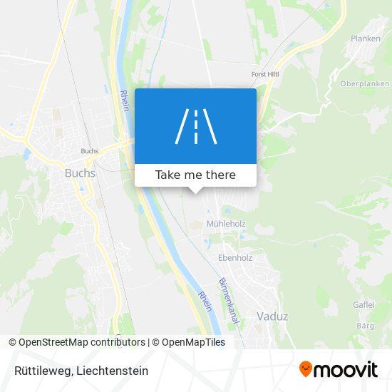 Rüttileweg map