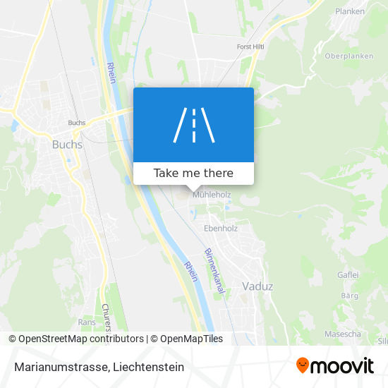 Marianumstrasse map