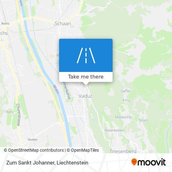 Zum Sankt Johanner map