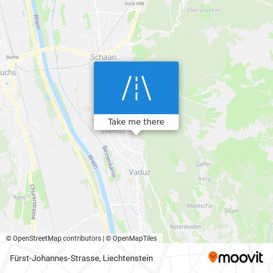 Fürst-Johannes-Strasse map