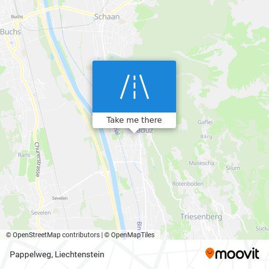 Pappelweg map