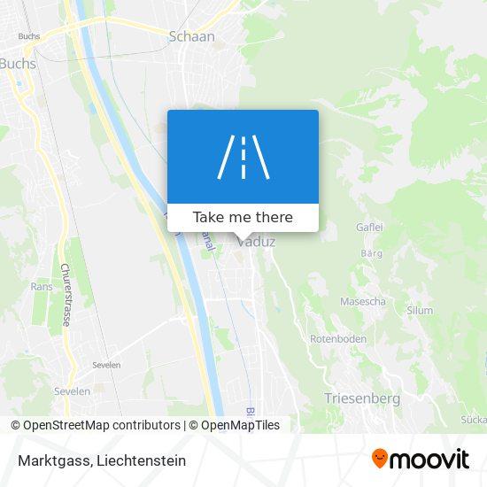 Marktgass map
