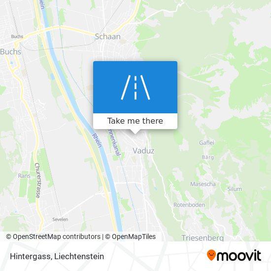 Hintergass map