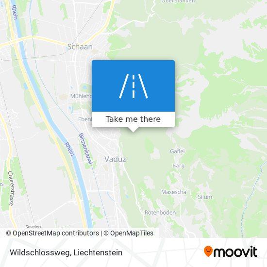 Wildschlossweg map