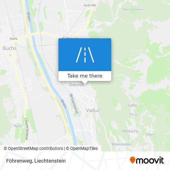 Föhrenweg map