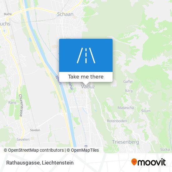 Rathausgasse map