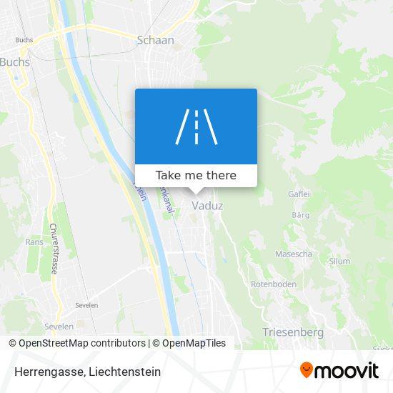 Herrengasse map